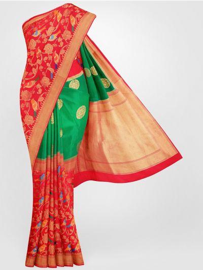 MFB6601262 - Banarasi Dupion Silk Saree