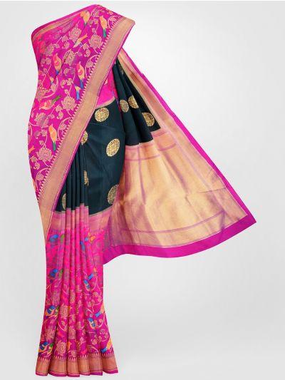MFB6601263 - Banarasi Dupion Silk Saree