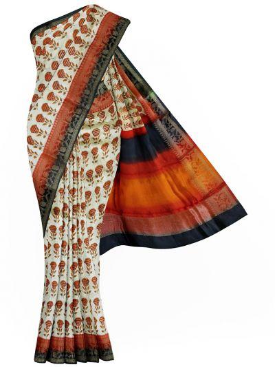 MFB7165087 - Dupion  Soft Silk Saree