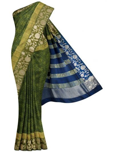 Kyathi Exclusive Dupion Printed Soft Silk Saree - MFB7165089
