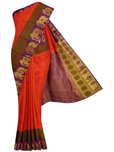 Bairavi Traditional Silk Saree - MGA7288745
