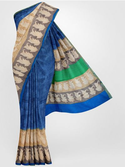 MGB8355682 - Tussar Printed Silk Saree