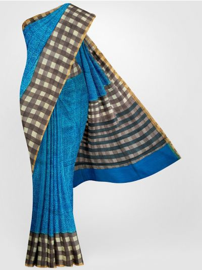 MGB8355685 - Tussar Printed Design Silk Saree