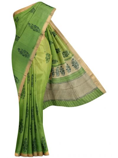Kyathi Exclusive Desi Tussar Silk Saree - MGB8355688