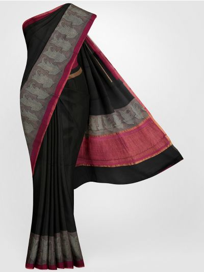 MGB8355691-Tussar Printed Design Silk Saree