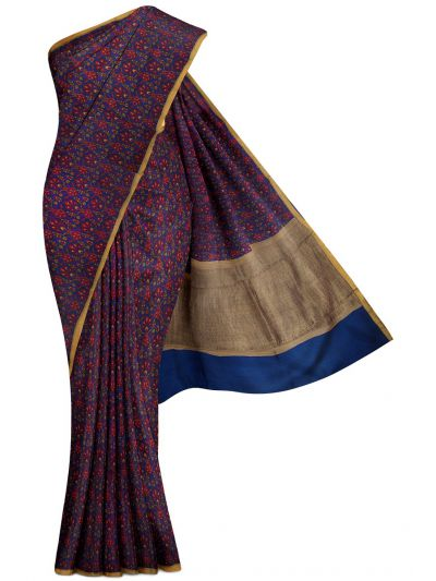 Sahithyam Exclusive Chanderi Printed Saree - MGB8355697