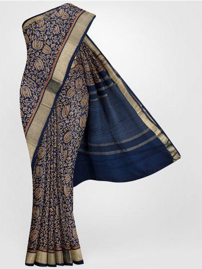 MGB8355707-Tussar Printed Design Silk Saree