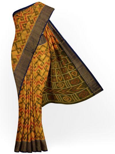 Chamelli Exclusive Pochampally Cotton Saree - MGB8561632