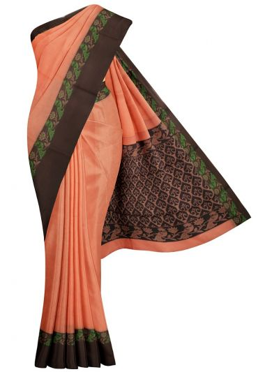 Chamelli Exclusive Kora Cotton Saree - MGB8614403