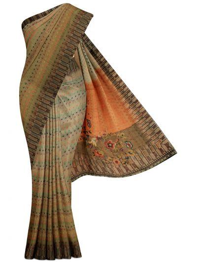 Kathana Fancy Art Tussar Silk Saree - MGB8627807