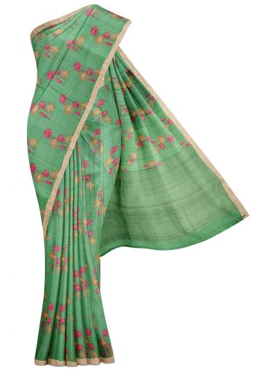 MGB8660413-Fancy Tussar Jute Silk Saree