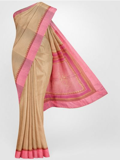 MGB8789505-Fancy Tussar Printed Silk Saree