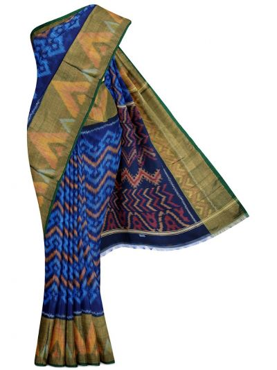 Chamelli Exclusive Pochampally Silk Cotton Saree - MGB8956359