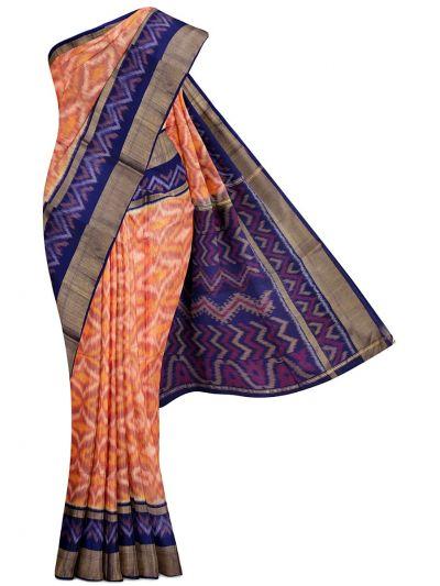 Chamelli Exclusive Pochampally Silk Cotton Saree - MGB8956375