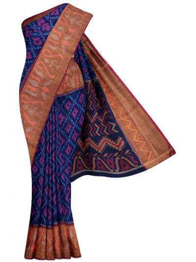 Chamelli Exclusive Pochampally Silk Cotton Saree - MGB8956386