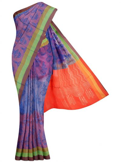 MGB9489614 - Kanmanie Soft Silk Saree