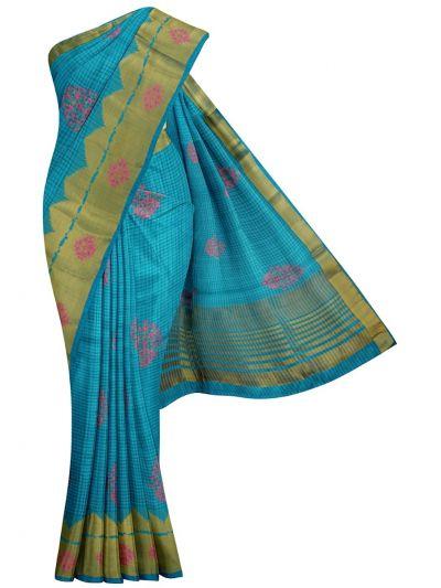 Kathana Fancy Semi Jute Saree - MGB9577319
