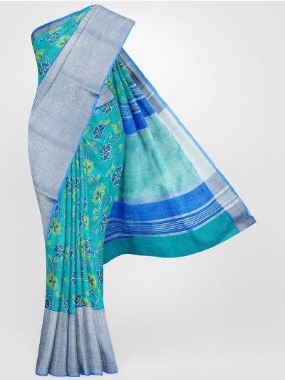 MGC0047699-Linen Printed Saree