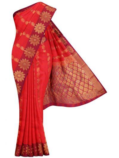 MGC0060606-Bairavi Traditional Stone Work Gift Silk Saree