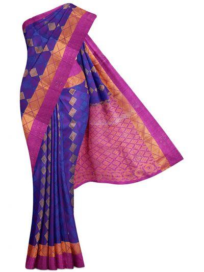 MGC0060625-Bairavi Traditional Stone Work Gift Silk Saree