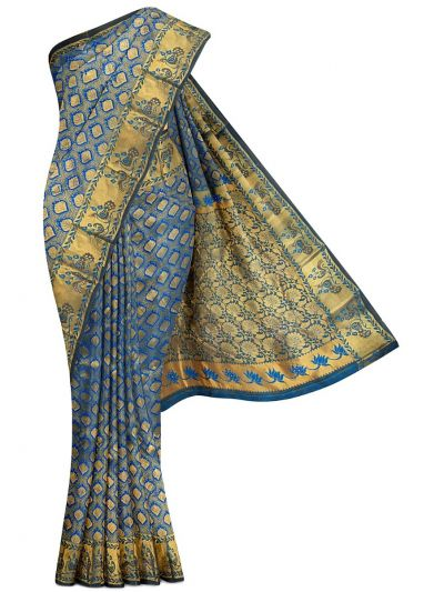Vivaha Traditional Stone Work Silk Saree - MGC0267937