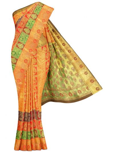 Vivaha Traditional Stone Work Silk Saree - MGC0267993