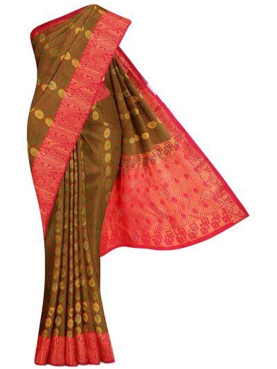 MGC0485817-Bairavi Traditional Stone Work Gift Silk Saree