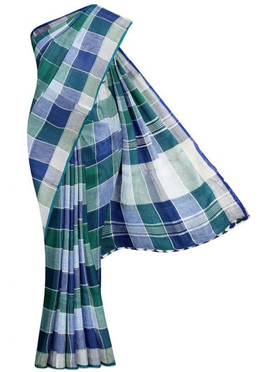 MGC0504489-Linen Cotton Saree