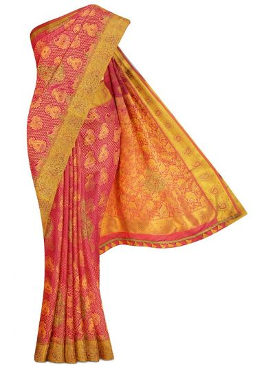Bairavi Traditional Stone Work Art Silk Saree - MGC9685070