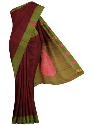 Vipanji Soft Silk Saree - MGC9991486