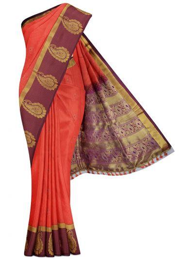 MGD0999862-Bairavi Gift Art Silk Stone Work Saree