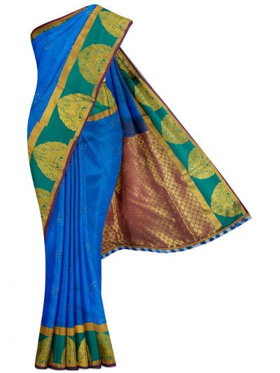 MGD0999867-Bairavi Gift Art Silk Stone Work Saree