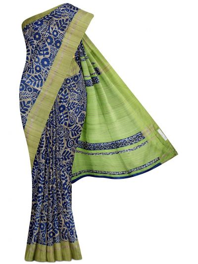 Kyathi Exclusive Pure Tussar Silk Saree - MGD1000618