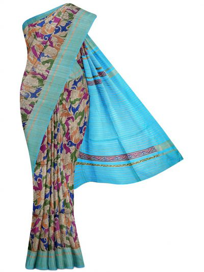 Kyathi Exclusive Pure Tussar Silk Saree - MGD1000621