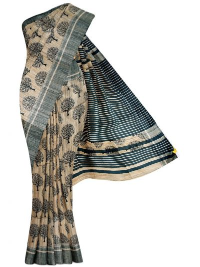 Kathana Exclusive Pure Jute Silk Saree - MGD1000629