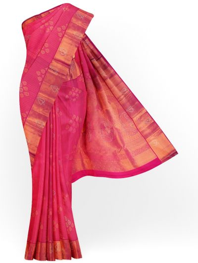 Vivaha Exclusive Wedding Stone Work Silk Saree - MDE3384641