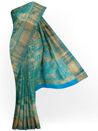 Vivaha Exclusive Wedding Stone Work Silk Saree - MHC1933625