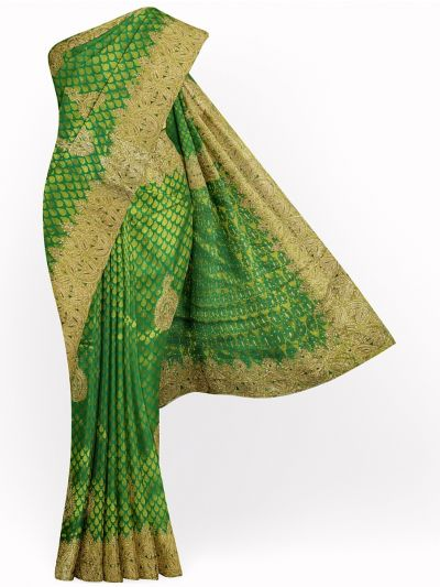 Vivaha Wedding Silk Saree With Stone Work Design - MHC2203913