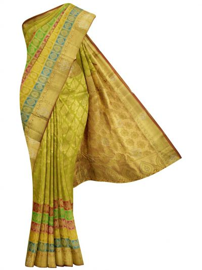 MHD2627895 - Vivaha Traditional Stone Work Silk Saree