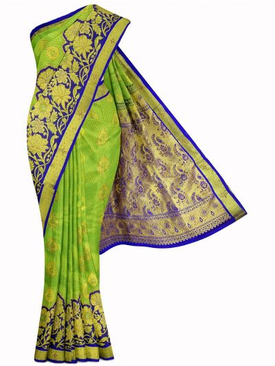 Vivaha Exclusive Wedding Stone Work Silk Saree - MIA2929853