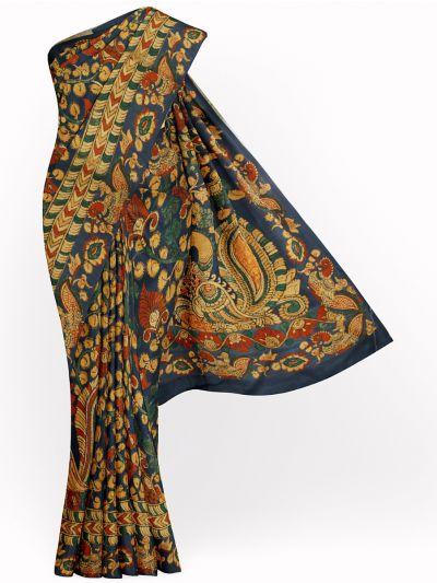 Kathana Fancy Digital Printed Semi Jute Saree - MIA3029335