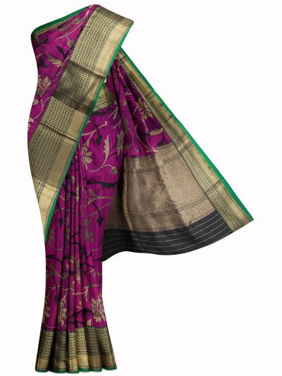 Kyathi Exclusive Handloom Banarasi Silk Saree - MIB3560362