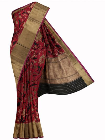 Kyathi Exclusive Handloom Banarasi Silk Saree - MIB3560363