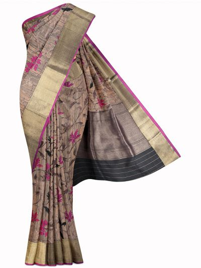 Kyathi Exclusive Handloom Banarasi Silk Saree - MIB3560364