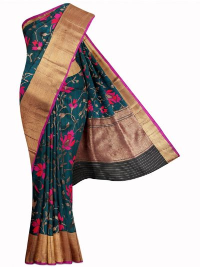 Kyathi Exclusive Handloom Banarasi Silk Saree - MIB3560365