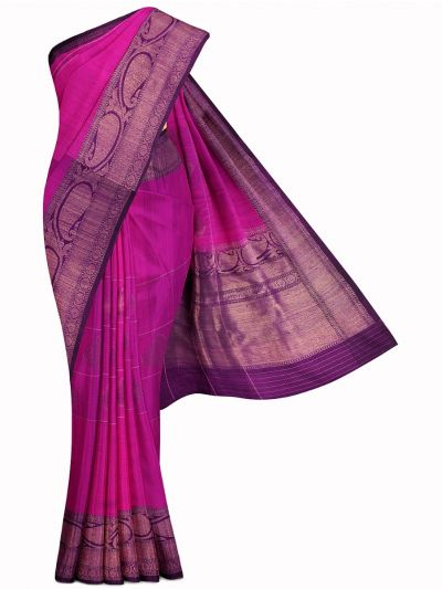 Kyathi Exclusive Antique Zari Handloom Banarasi Silk Saree - MIB3560368