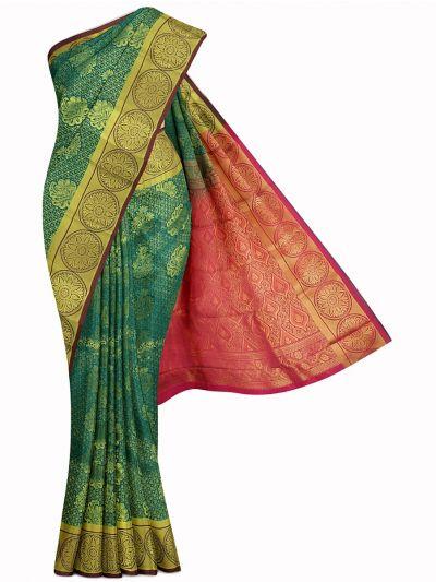 Bairavi Gift Art Silk Stone Work Saree - MIB3567360