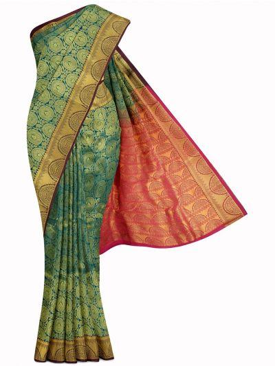 Bairavi Gift Art Silk Stone Work Saree - MIB3567377