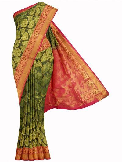 Bairavi Gift Art Silk Stone Work Saree - MIB3567378