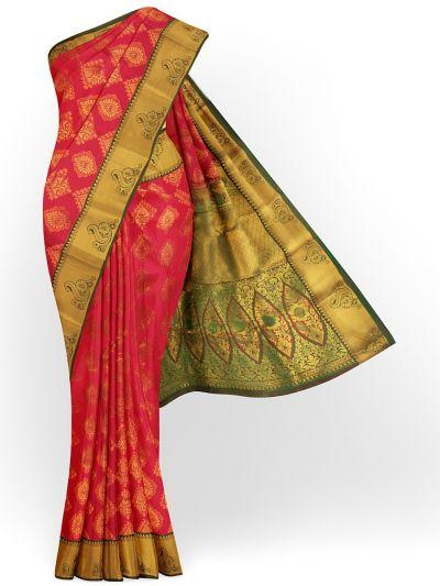 Bairavi Gift Art Silk Stone Work Saree - MIB3567392